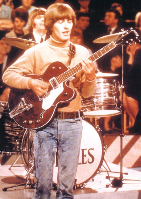 George with his 1962 Gretsch Chet Atkins Tennessean