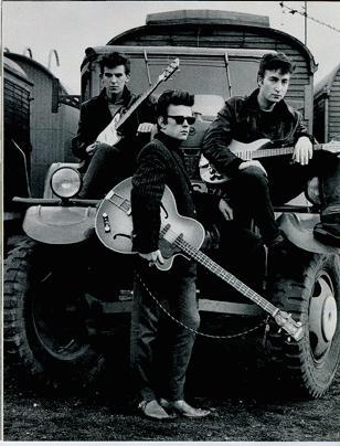 Beatles Trio on Truck
